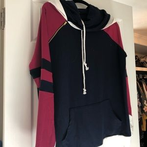 Double hoodie